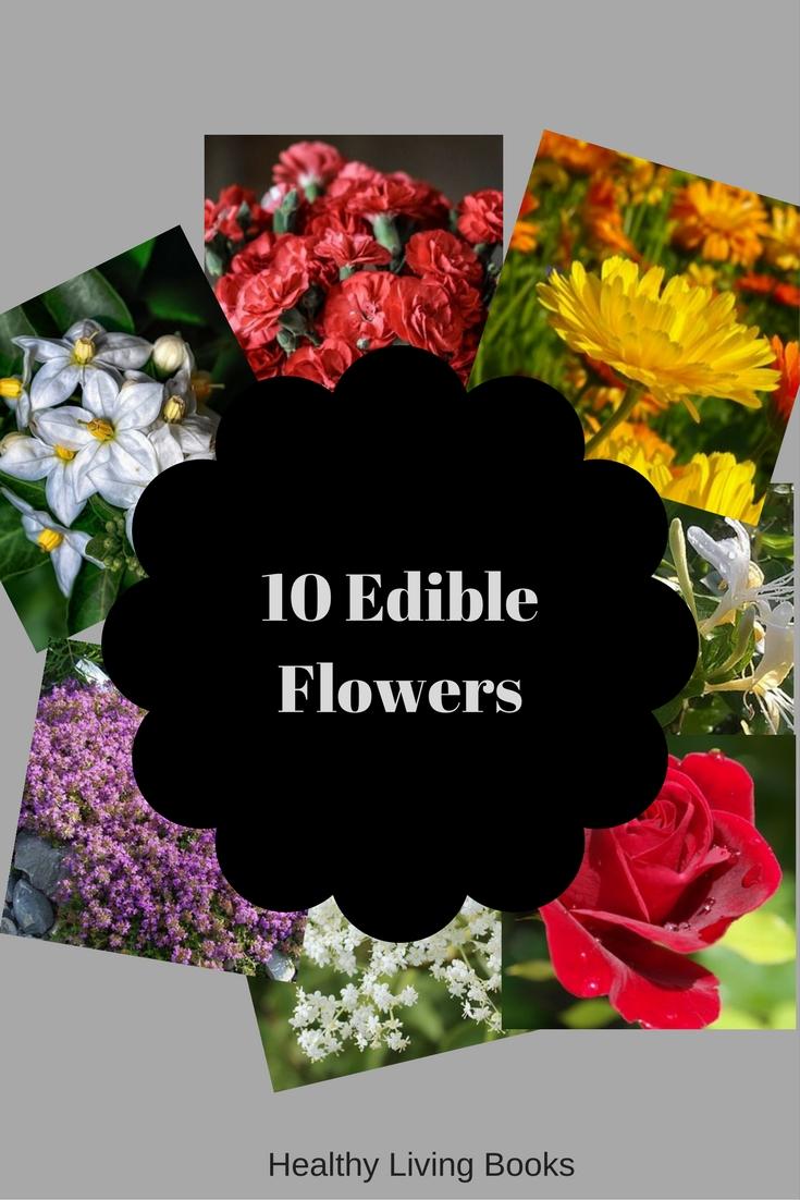 10 Edible Flowers