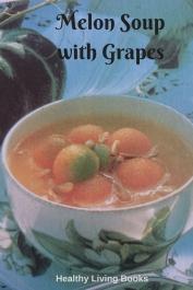 Melon Soup with Grapes