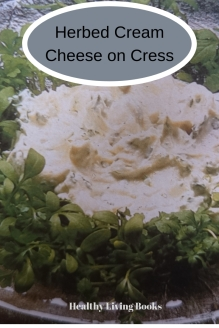 Herbed Creamed Cheese on Cress-pinterest